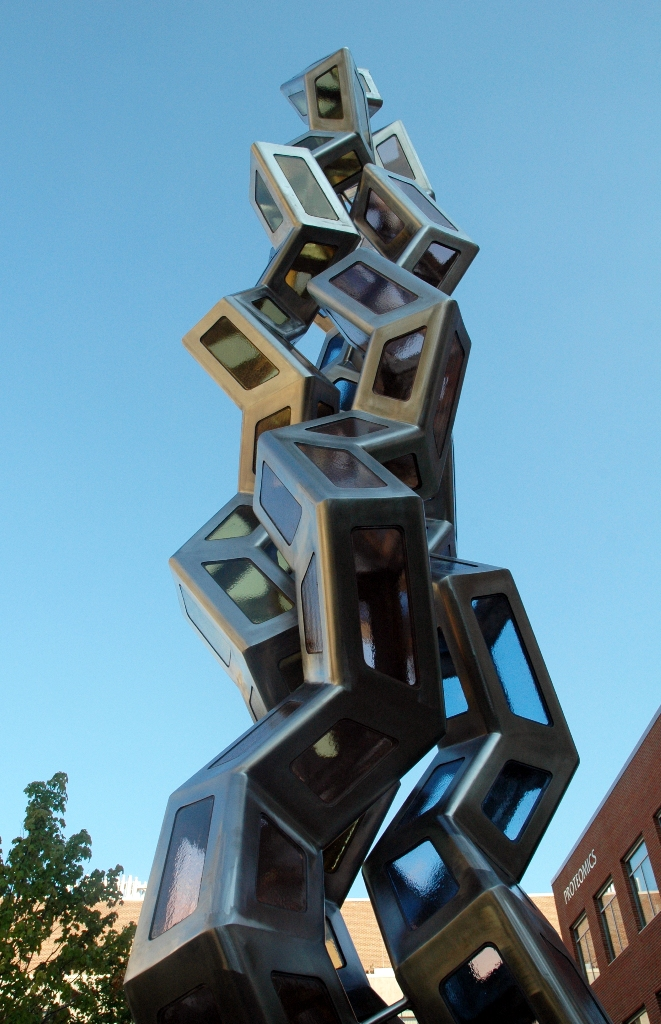 Synergy art science sculpture