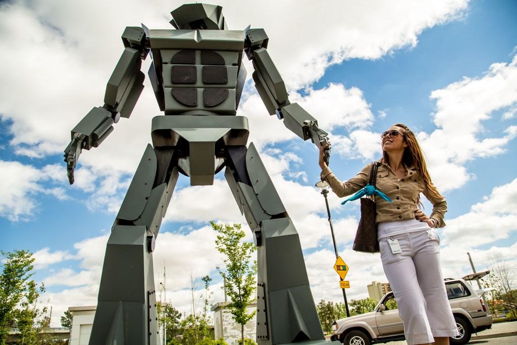 Beakerhead robot