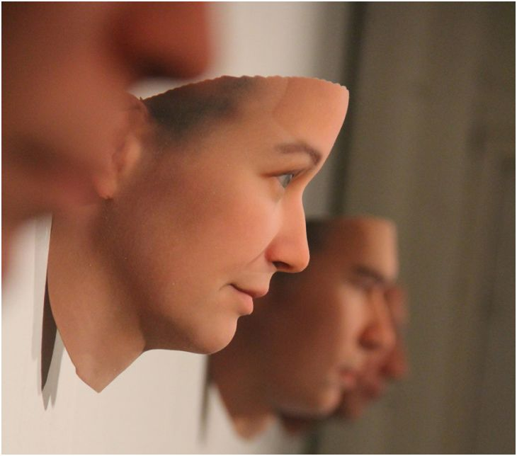 DNA-based portraits. All images courtesy of Heather Dewey-Hagborg.