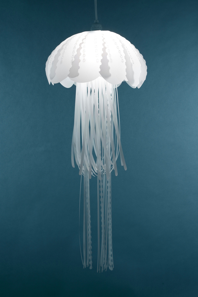 Medusa lamp by Roxy Russell