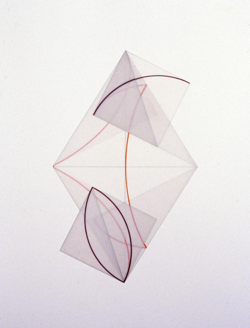 Paralellogram Small Squares Dorothea Rockburne