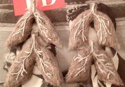 Wool lungs from the Romantic Disease